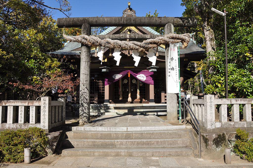 阿比太神社/社殿