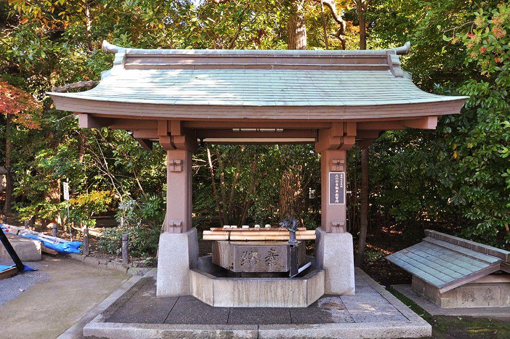 阿比太神社/手水舎