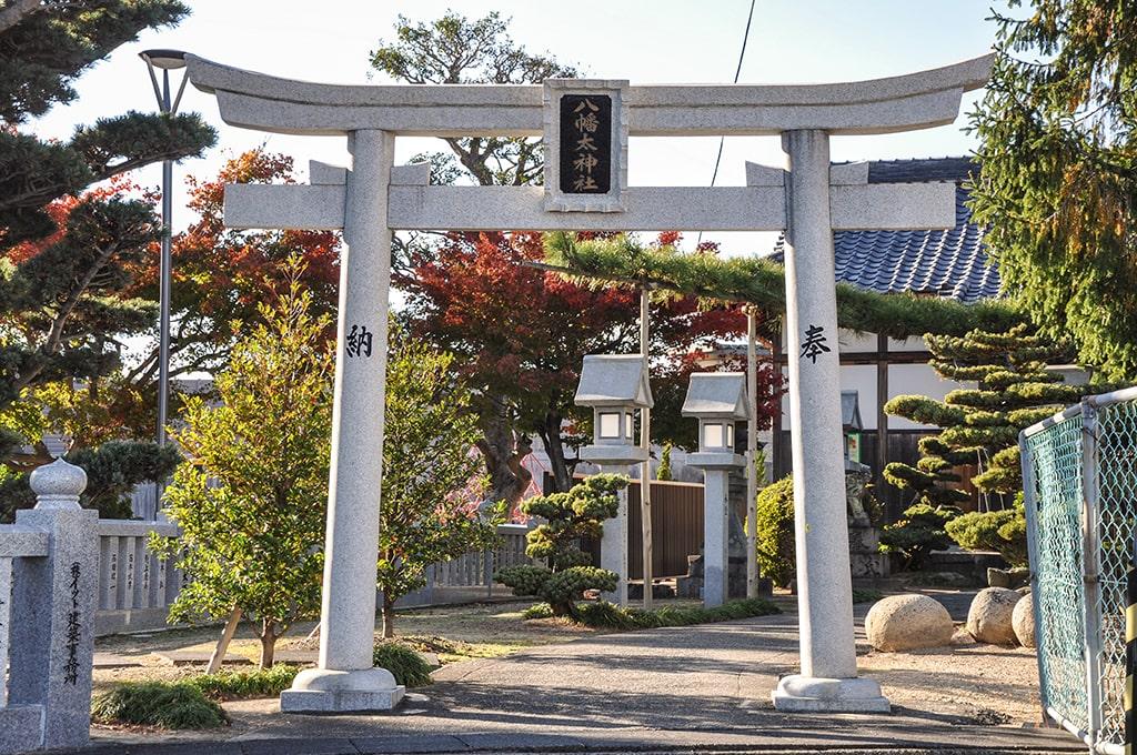 八幡太神社/鳥居