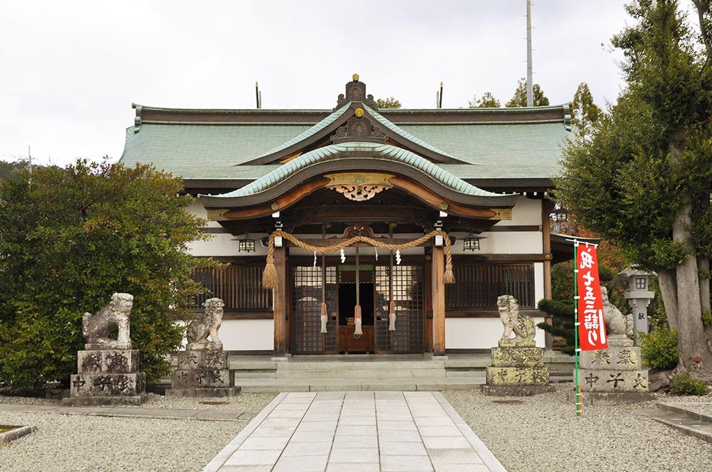 為那都比古神社/拝殿