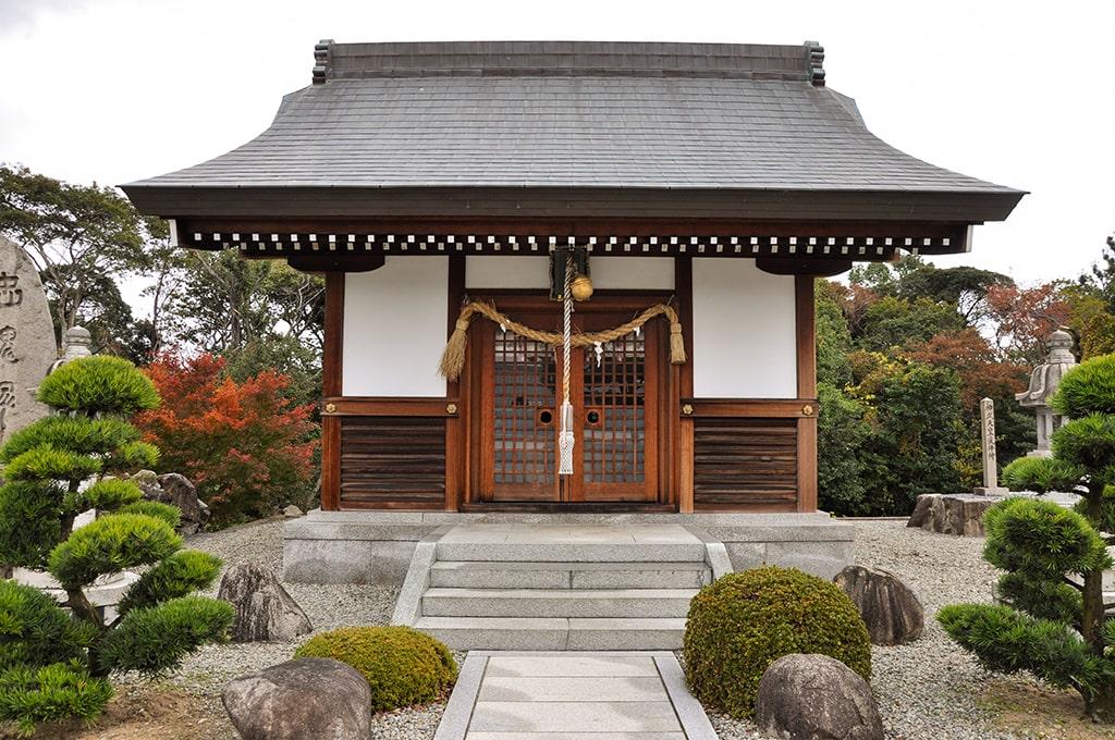 為那都比古神社/英霊奉安殿