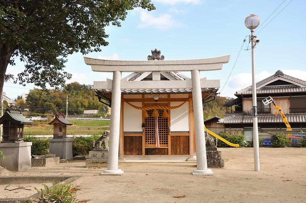 春日神社(川合)