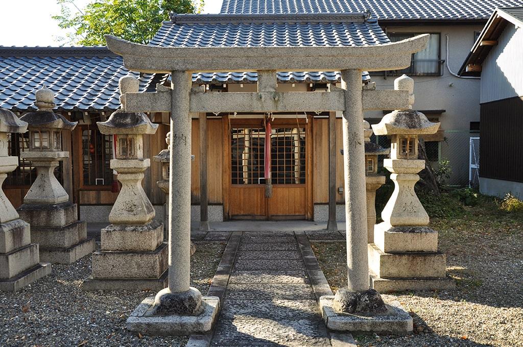 牧落八幡宮/武内宿禰社