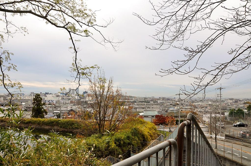 水神宮/大阪方面の眺望