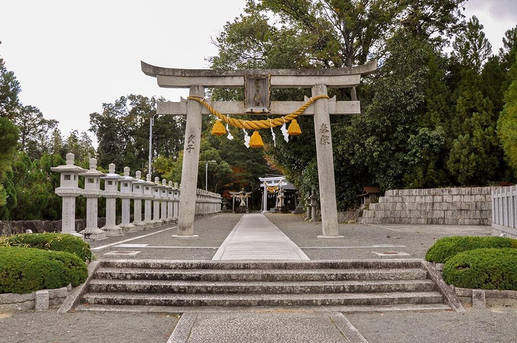 春日神社(小野原)/一の鳥居
