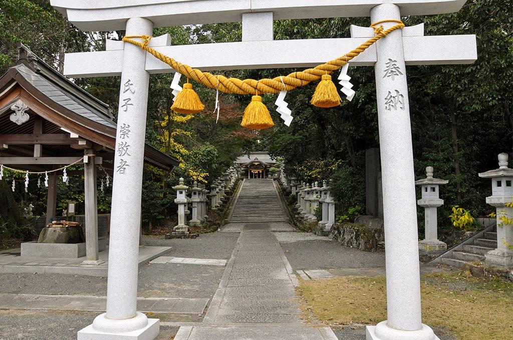 春日神社(小野原)/二の鳥居