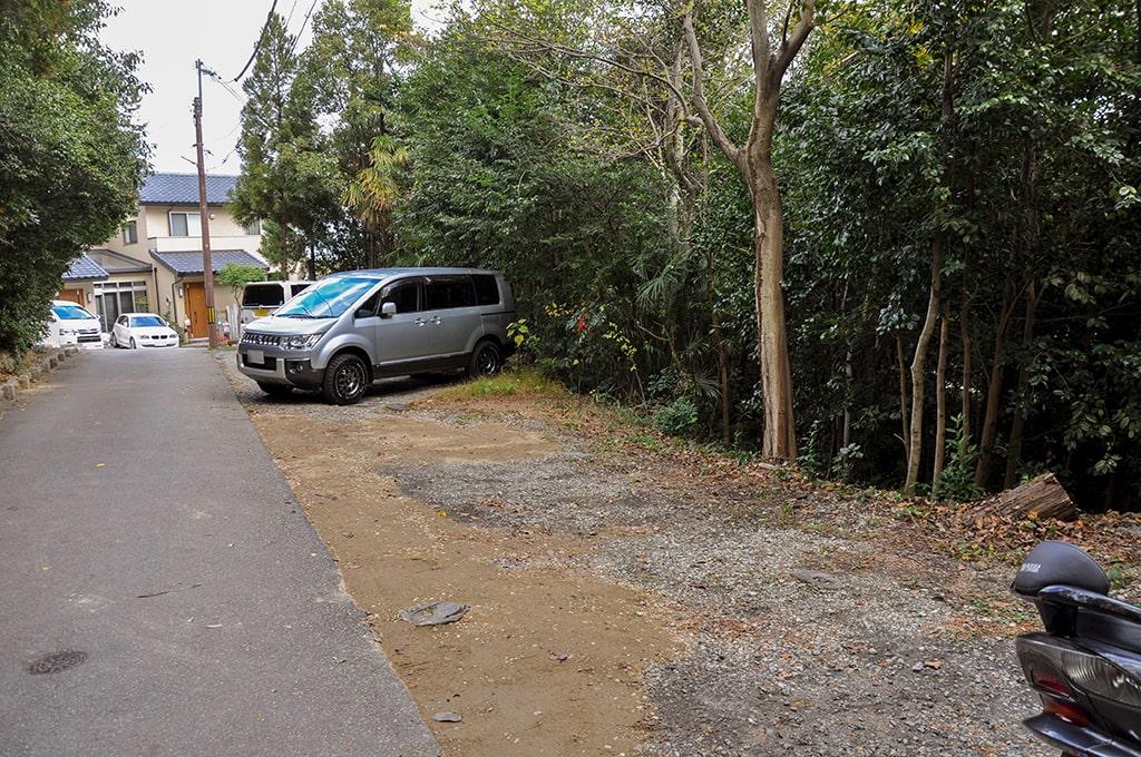 春日神社(小野原)/駐車スペース