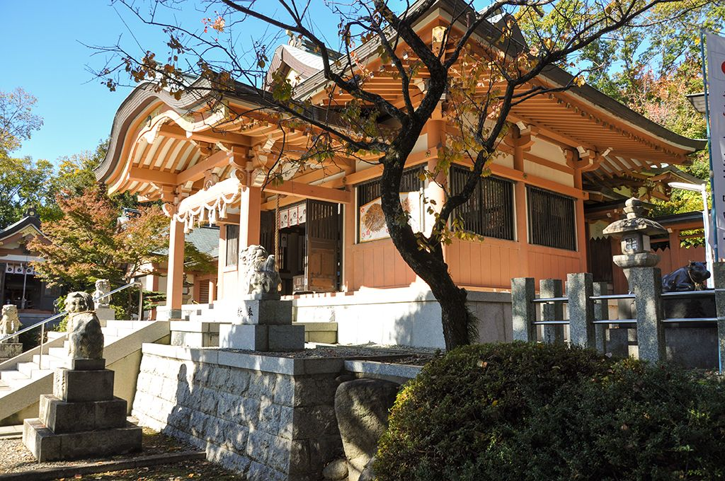 天児屋根命神社/社殿