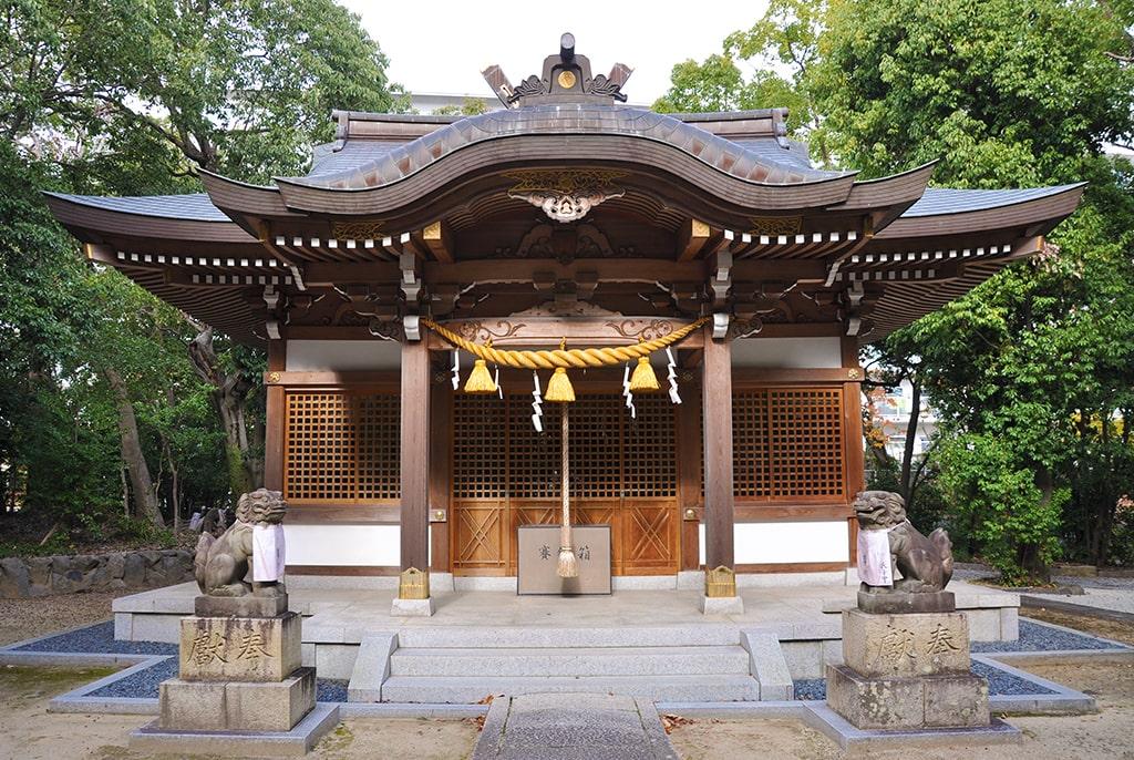 新家春日神社/社殿