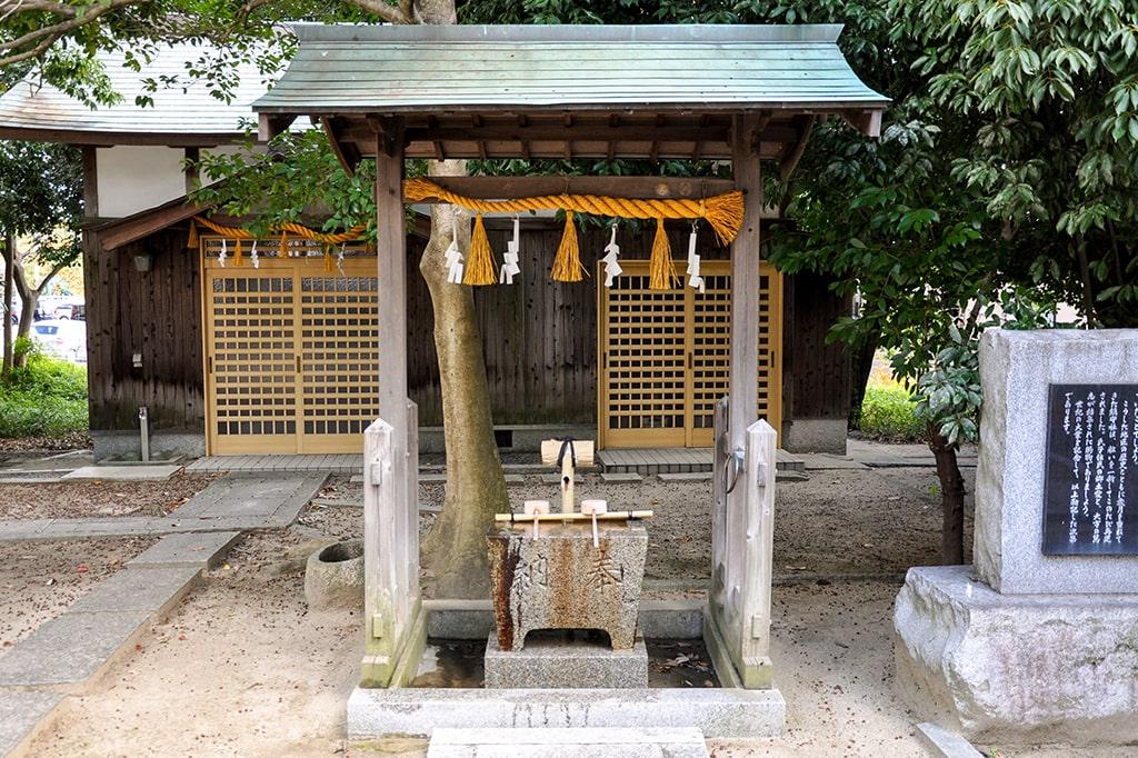 新家春日神社/手水舎
