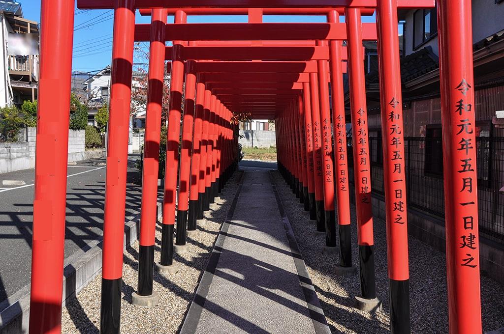 正丸稲荷神社/鳥居