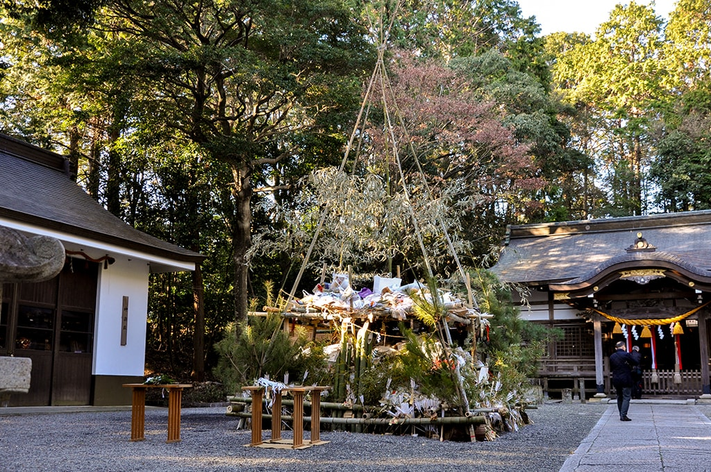 春日神社(小野原)/とんど祭り