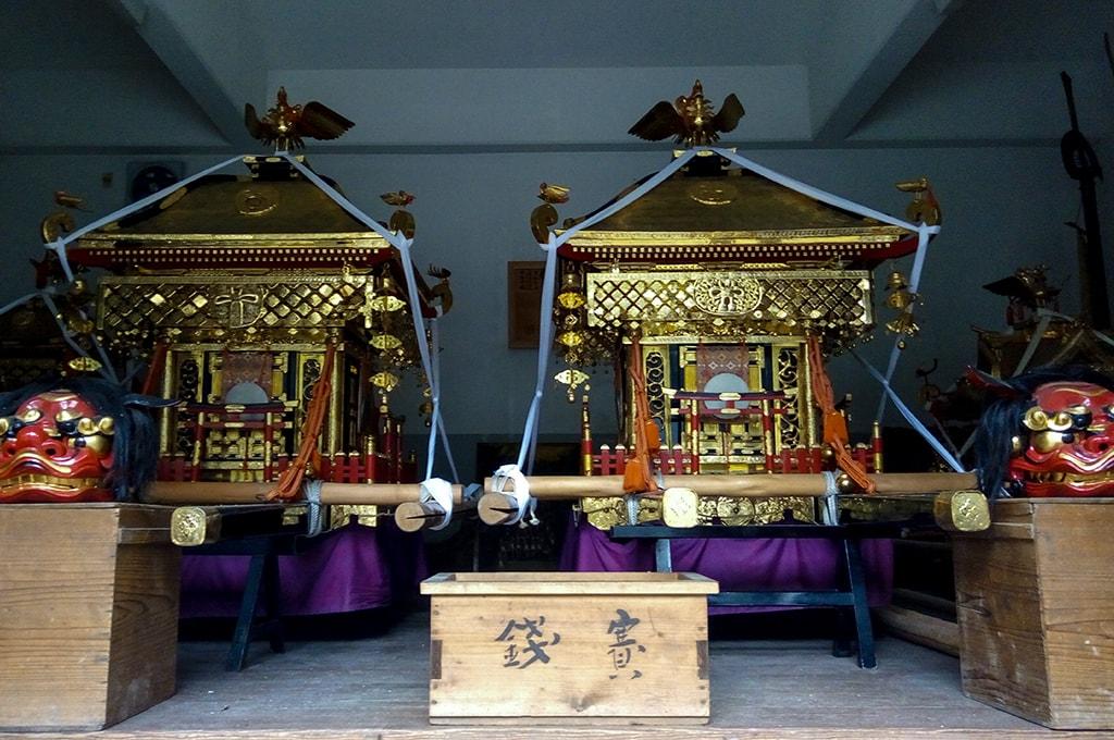 春日神社(小野原)/御神輿