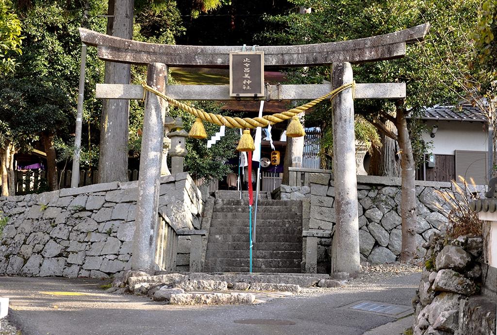 止々呂美神社/鳥居