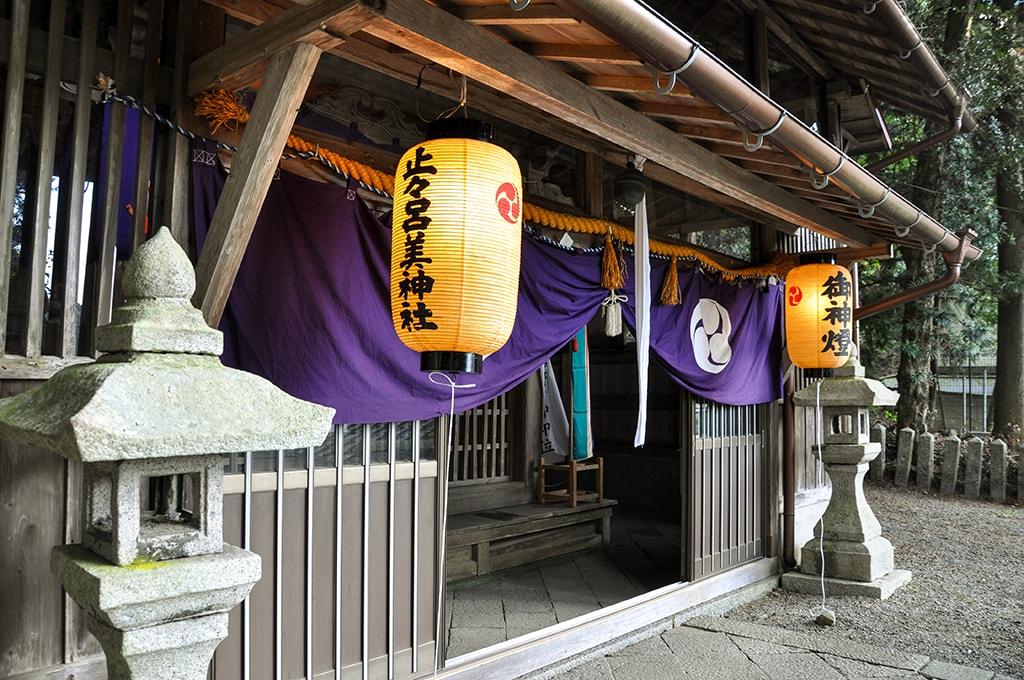 止々呂美神社/社殿