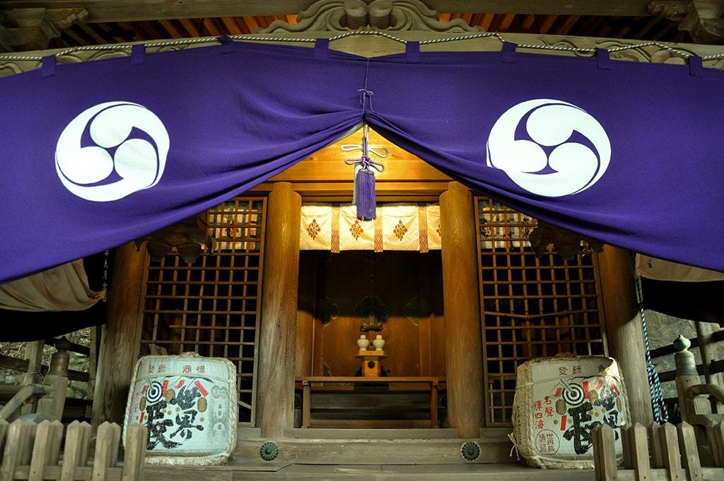 止々呂美神社/拝殿正面