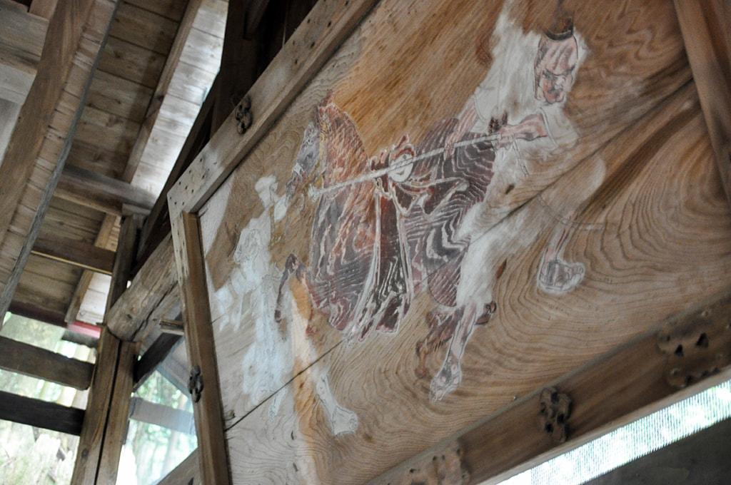 止々呂美神社/社殿内部絵馬