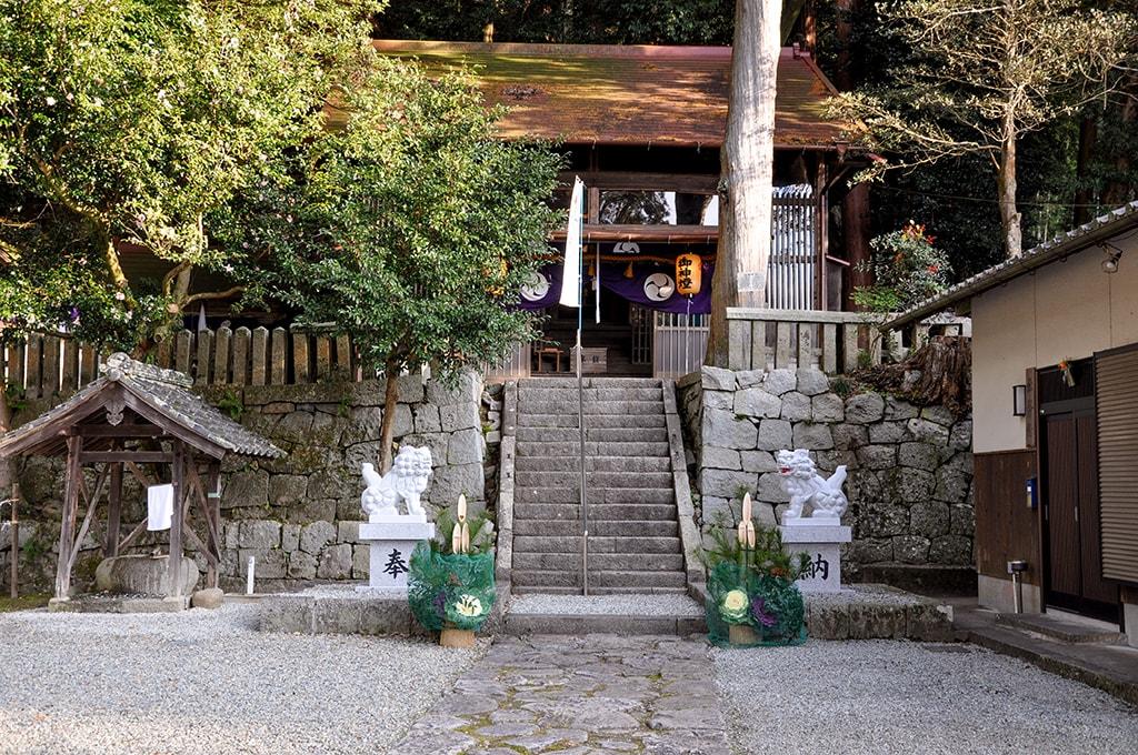 止々呂美神社/境内