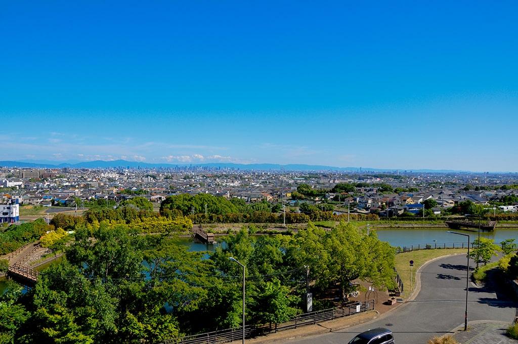 スカイアリーナからの眺め