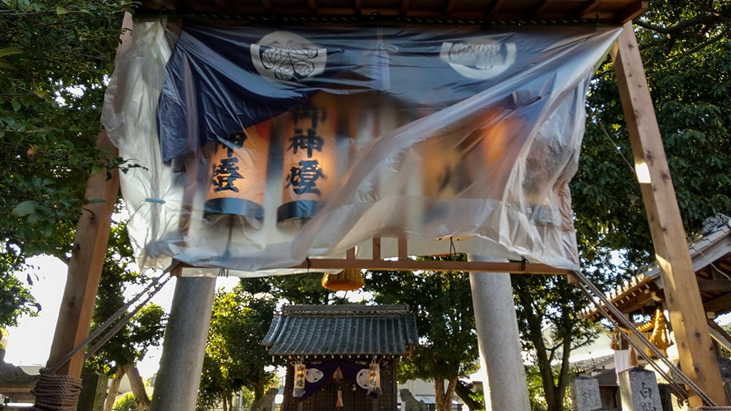 五字(ごあざ)神社秋祭り
