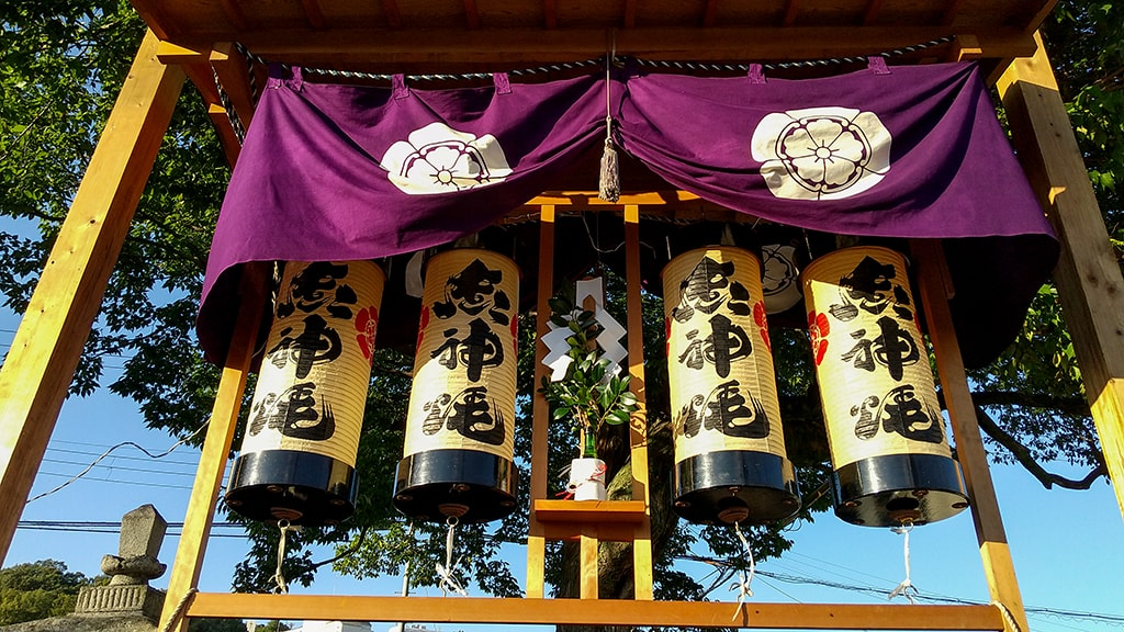 楠木神社秋祭り
