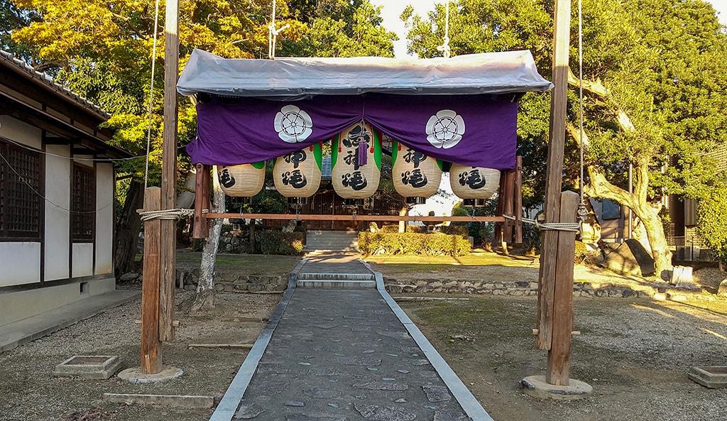 ごじ神社秋祭り