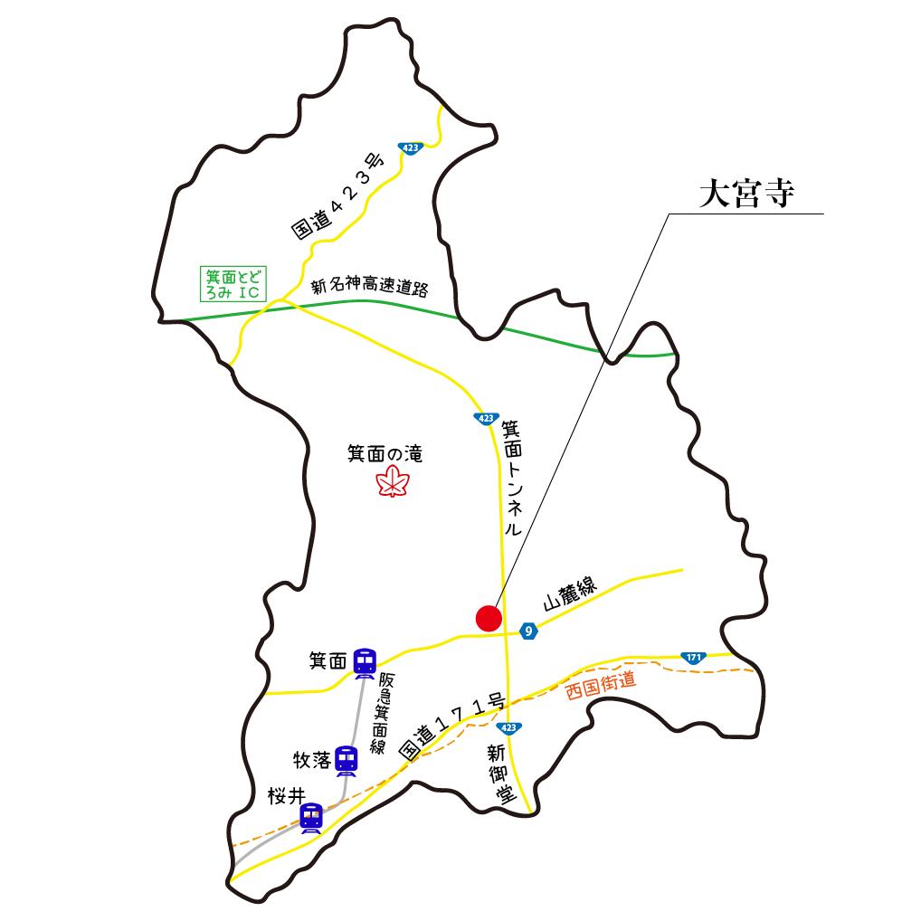 マップ大宮寺